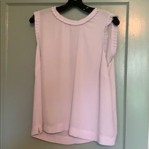 J. Crew Ruffle Trim Top